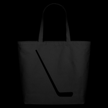 ice hockey stick - Eco-Friendly Cotton Tote