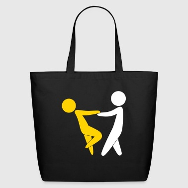 Couple Dancing On Valentine's Day - Eco-Friendly Cotton Tote