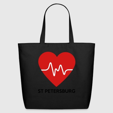 Heart St Petersburg - Eco-Friendly Cotton Tote