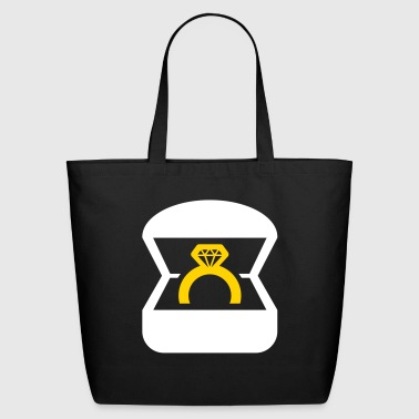 An Engagement Ring / Wedding Ring - Eco-Friendly Cotton Tote