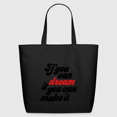 dream - Eco-Friendly Cotton Tote