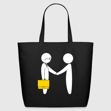 A Lawyer Meets A Client - Eco-Friendly Cotton Tote