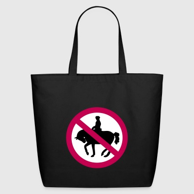 no horses - Eco-Friendly Cotton Tote