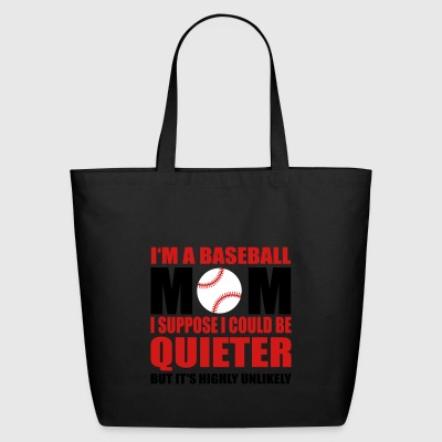 Baseball mom - Eco-Friendly Cotton Tote