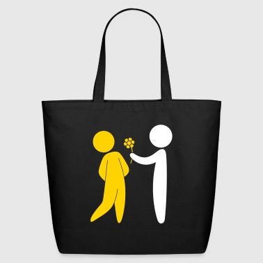 Valentine's Day Couple - Eco-Friendly Cotton Tote
