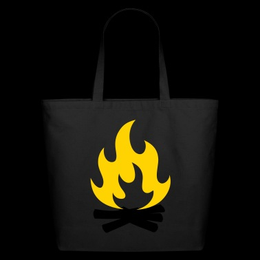 Camp fire - Eco-Friendly Cotton Tote