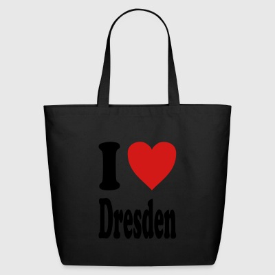 I love Dresden (variable colors!) - Eco-Friendly Cotton Tote