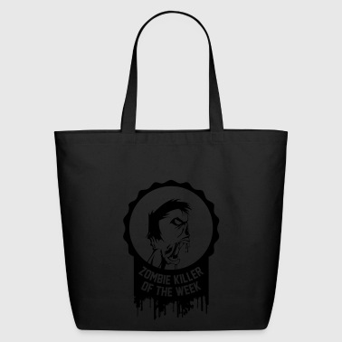 Zombie killer of the week award - Eco-Friendly Cotton Tote