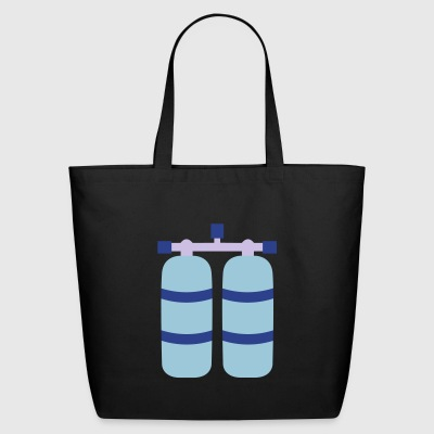 diving - Eco-Friendly Cotton Tote