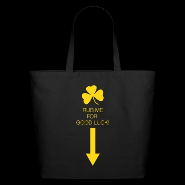 Rub Me for Good Luck - Eco-Friendly Cotton Tote