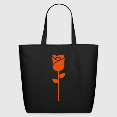 A Rose Flower - Eco-Friendly Cotton Tote