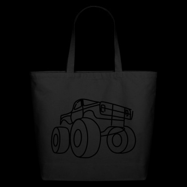 Monster truck - Eco-Friendly Cotton Tote