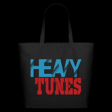 heavy tunes - Eco-Friendly Cotton Tote