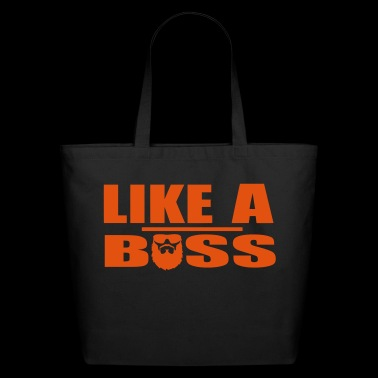 Like A Boss - Eco-Friendly Cotton Tote