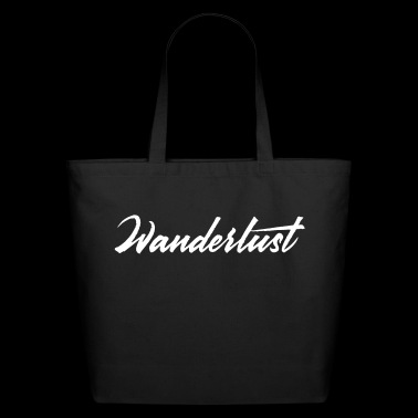 Wanderlust - Eco-Friendly Cotton Tote