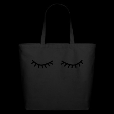 flutter eyelashes - Eco-Friendly Cotton Tote