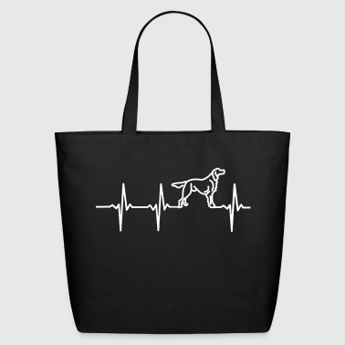 MY HEART BEATS FOR DOGS - Eco-Friendly Cotton Tote