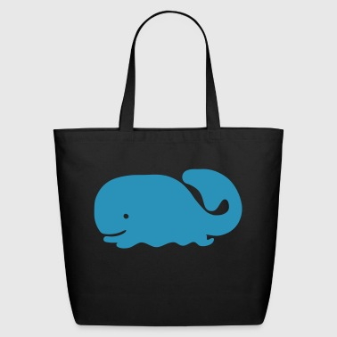 Whale - Eco-Friendly Cotton Tote