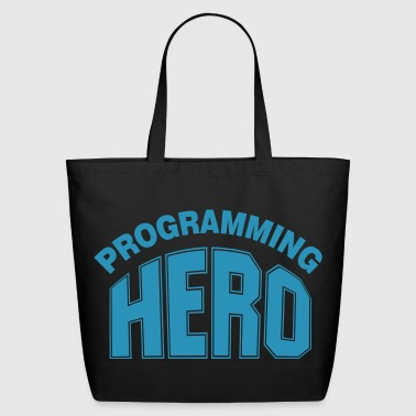 Programming Hero - Eco-Friendly Cotton Tote