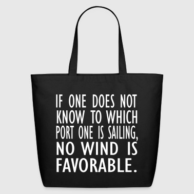 no wind is fav - Eco-Friendly Cotton Tote