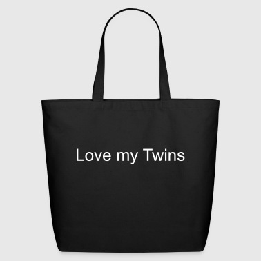 (love_my_twins) - Eco-Friendly Cotton Tote