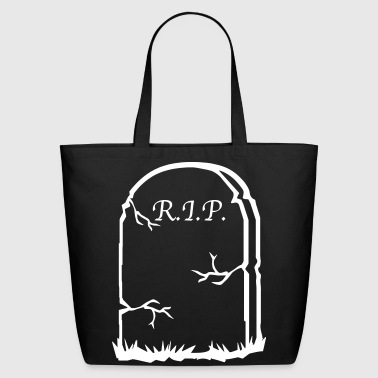 tombstone R.I.P. - Eco-Friendly Cotton Tote