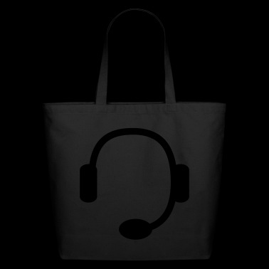 headset - Eco-Friendly Cotton Tote