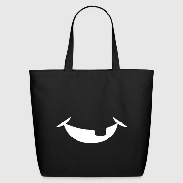 simple baby smile with tooth missing - Eco-Friendly Cotton Tote
