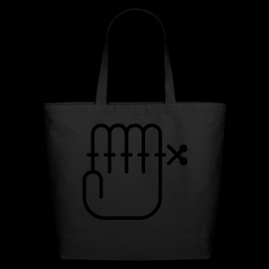 Hand sign - Eco-Friendly Cotton Tote