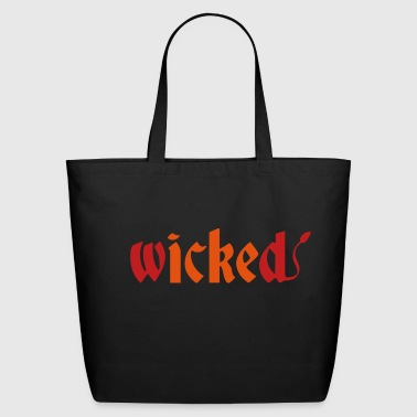 Wicked - Eco-Friendly Cotton Tote