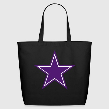 STAR IN STAR . STAR INSIDE STAR OUTSIDE. A REALONe - Eco-Friendly Cotton Tote