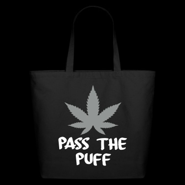 pass the puff - Eco-Friendly Cotton Tote