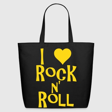 i love rock n' roll - Eco-Friendly Cotton Tote