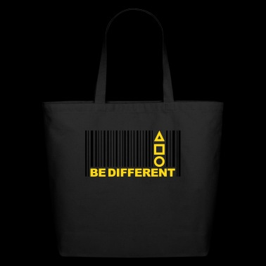 Barcode Be Different - Eco-Friendly Cotton Tote