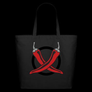 Chillies Design - Eco-Friendly Cotton Tote
