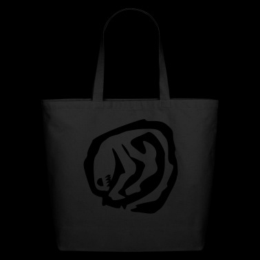 alien stamp - Eco-Friendly Cotton Tote