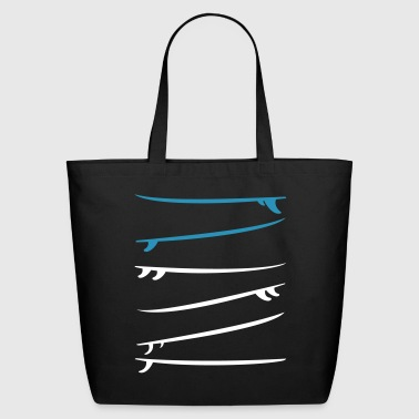 Surfboards (3 customizable colors) - Eco-Friendly Cotton Tote