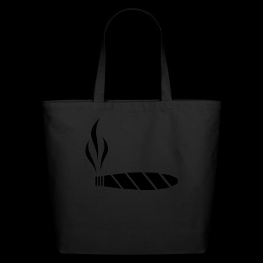 cigar - cigarette - Eco-Friendly Cotton Tote