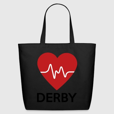 Heart Derby - Eco-Friendly Cotton Tote