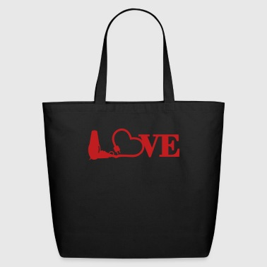 hair stylist's love (1c) - Eco-Friendly Cotton Tote