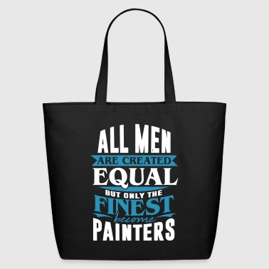 painter artist painting job work sprayer gift - Eco-Friendly Cotton Tote