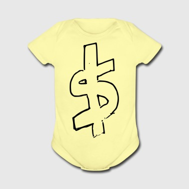 CaSh - Short Sleeve Baby Bodysuit