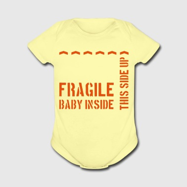 Fragile Baby - Short Sleeve Baby Bodysuit