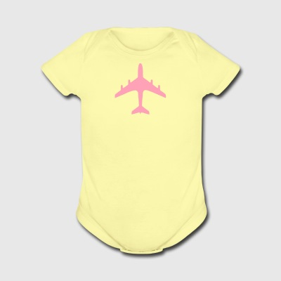 traffic signs - airport - Short Sleeve Baby Bodysuit