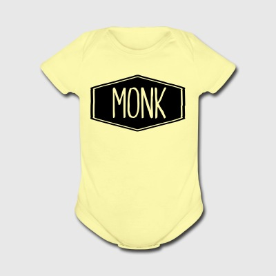 Monkk - Short Sleeve Baby Bodysuit