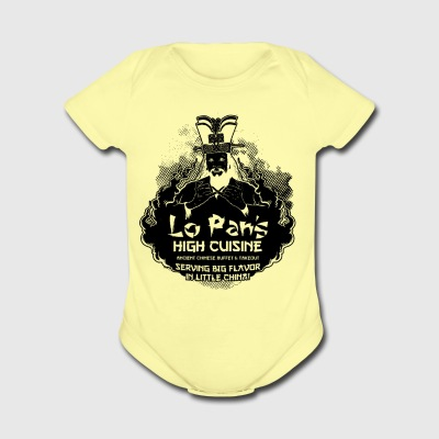 Lo Pan s High Cuisine - Short Sleeve Baby Bodysuit