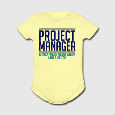 Project Manager - Short Sleeve Baby Bodysuit