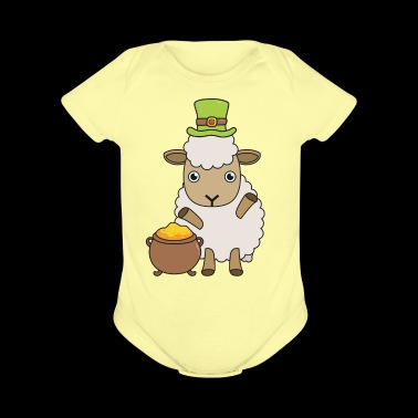 Irish Sheep Farmer St Patrick's Day Gift - Short Sleeve Baby Bodysuit