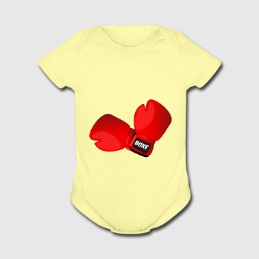 boxing - Short Sleeve Baby Bodysuit