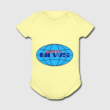 special news - Short Sleeve Baby Bodysuit